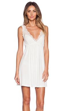 Venice Tank Chemise in Antique White
