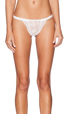 Only Hearts Lace Underwear in White & White