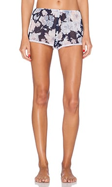 Only Hearts Sleep Shorts in Rambling Rose