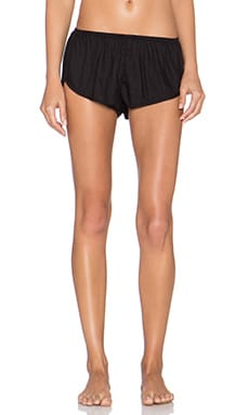 Only Hearts Blanca Sleep Shorts in Black