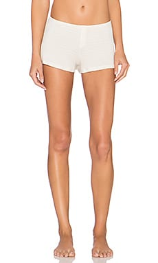 Only Hearts Moonrise Kingdom Sleep Shorts in Snow