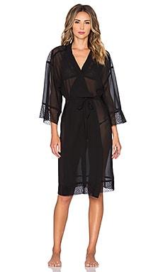 Only Hearts Coucou Lola Midi Kimono en Noir
