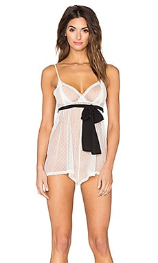 Only Hearts Coucou Lola Coucou Teddy in Creme & Black