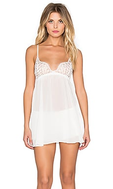 Only Hearts Darling Chemise in White