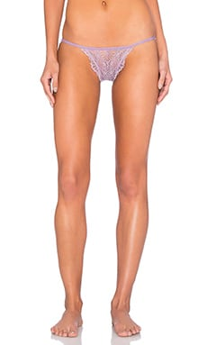 Only Hearts Whisper Sweet Nothings Lace Back Bikini in Violet Rose