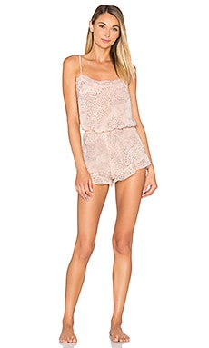 New Romantic Romper in Nudie