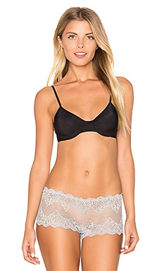 Only Hearts Second Skins Underwire Bra in Black