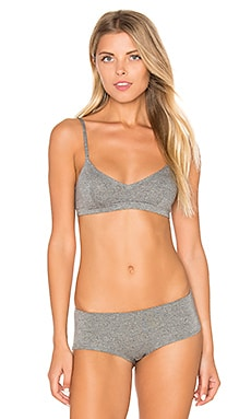 So Fine Layering & Lounge Bralette in Greystone