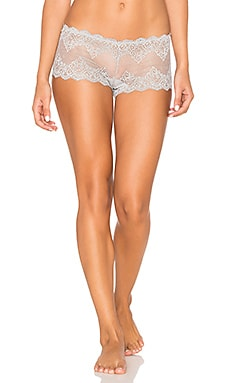 So Fine Lace Hipster en Gris Chiné