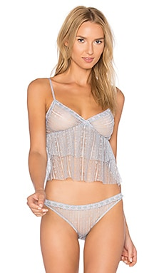 Something Blu Crop Cami in Silver Blu