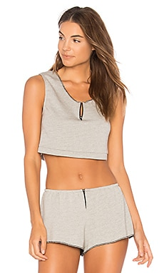 French Terry Cropped Tank