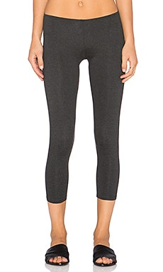 Only Hearts So Fine Crop Legging in Carbon