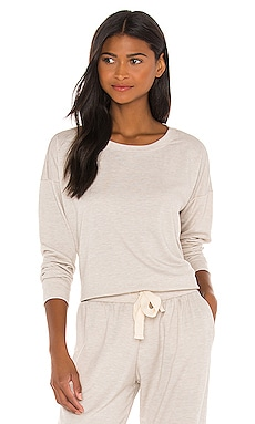 x REVOLVE High Low Sweatshirt onzie $23 (FINAL SALE) Sustainable