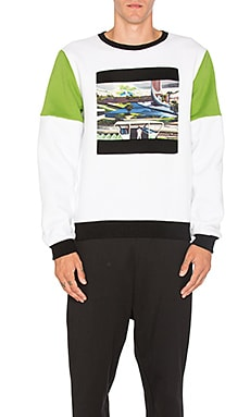 Space Agriculture Crewneck Sweatshirt
