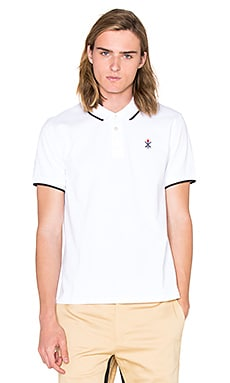 Opening Ceremony Torch Classic Fit S/S Polo en Blanc