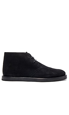 Opening Ceremony Suede Stacked Sole M1 Boot in Black