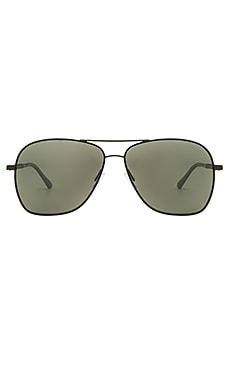 Oliver Peoples WEST Vanalden Sunglasses in Matte Black