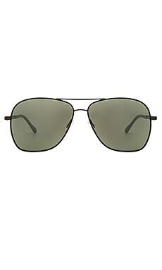 Oliver Peoples WEST Vanalden Sunglasses in Matte Black