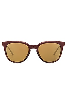 Oliver Peoples WEST Beech Sunglasses in Burgundy Horn Gradient