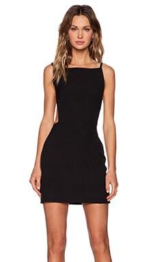 OSKLEN Strappy Mini Dress in Black