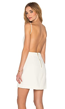 Square Tank Dress in White
