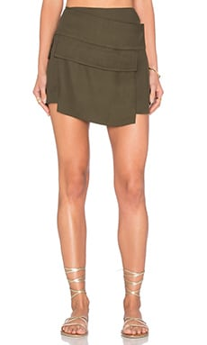OSKLEN Military Pocket Skirt in Military