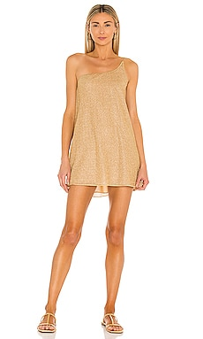 Lumiere One Shoulder Dress Oseree $270