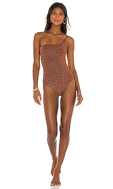 Lumiere One Shoulder One Piece Oseree $260