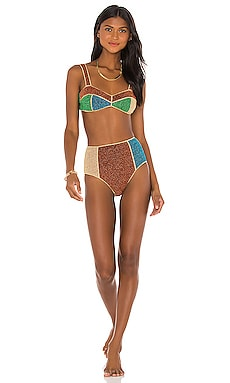 Colore Bikini Set Oseree $340 NEW
