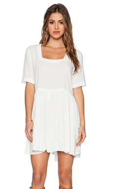 Otis & Maclain Genevieve Mini Dress in White