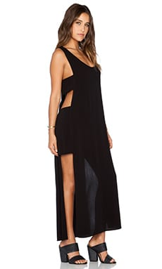 Otis & Maclain Freedom Dress in Black Crepe