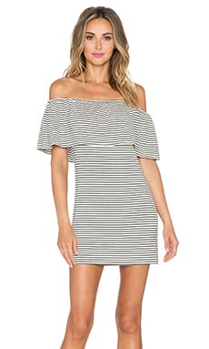 Otis & Maclain Rubia Dress in Sailor Stripe