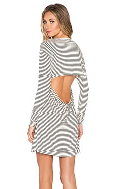 Otis & Maclain Mosshart Long Sleeve Dress in Sailor Stripe
