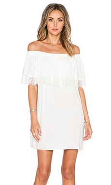 Otis & Maclain Senorita Lace Dress in White
