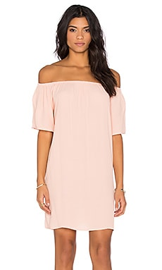 Laura Dress in Mauve Pink