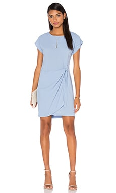 Otis & Maclain Emily Wrap Dress in Eastwood Blue