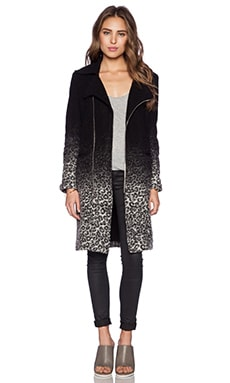 Otis & Maclain Midi Brooklyn Jacket in Leopard