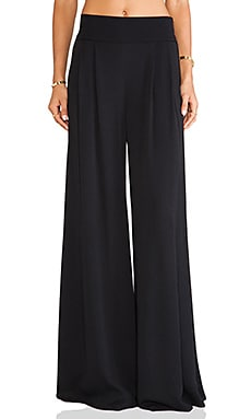 Florence Pant in Black Oval