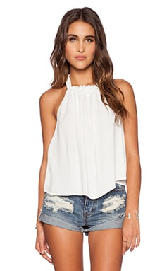 Otis & Maclain Evelyn Top in White