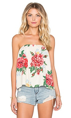 Otis & Maclain Sybil Top in Rosa Floral