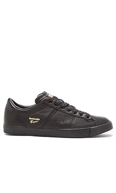 Onitsuka Tiger Platinum Lawnship in Black Black