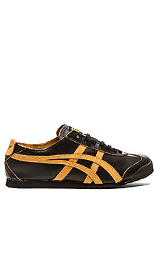 Onitsuka Tiger Platinum Mexico 66 in Black Tan