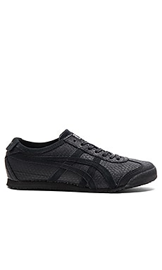 Onitsuka Tiger Platinum Mexico 66 in Black Black