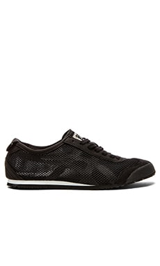 Onitsuka Tiger Platinum Mexico 66 in Black White
