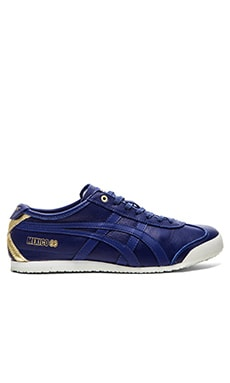 Onitsuka Tiger Platinum Mexico 66 in Dark Blue Dark Blue