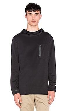 ourCASTE Kay Tech Pullover in Black