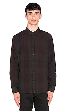 ourCASTE Kevin Button Down in OD Black