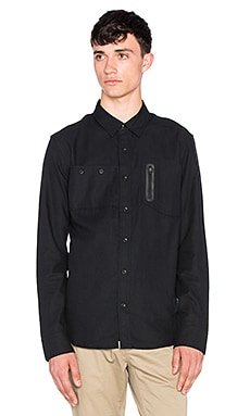 ourCASTE Hunter Button Down in Black