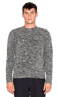 Our Legacy Regular Roundneck Sweater in Spotted Grey