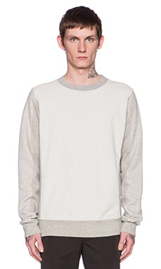 Our Legacy Melange Block Sweater in Grey